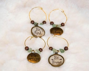 Inspirational Wine Charms