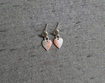 Perfect Romantic Gift - Handmade Heart Earrings