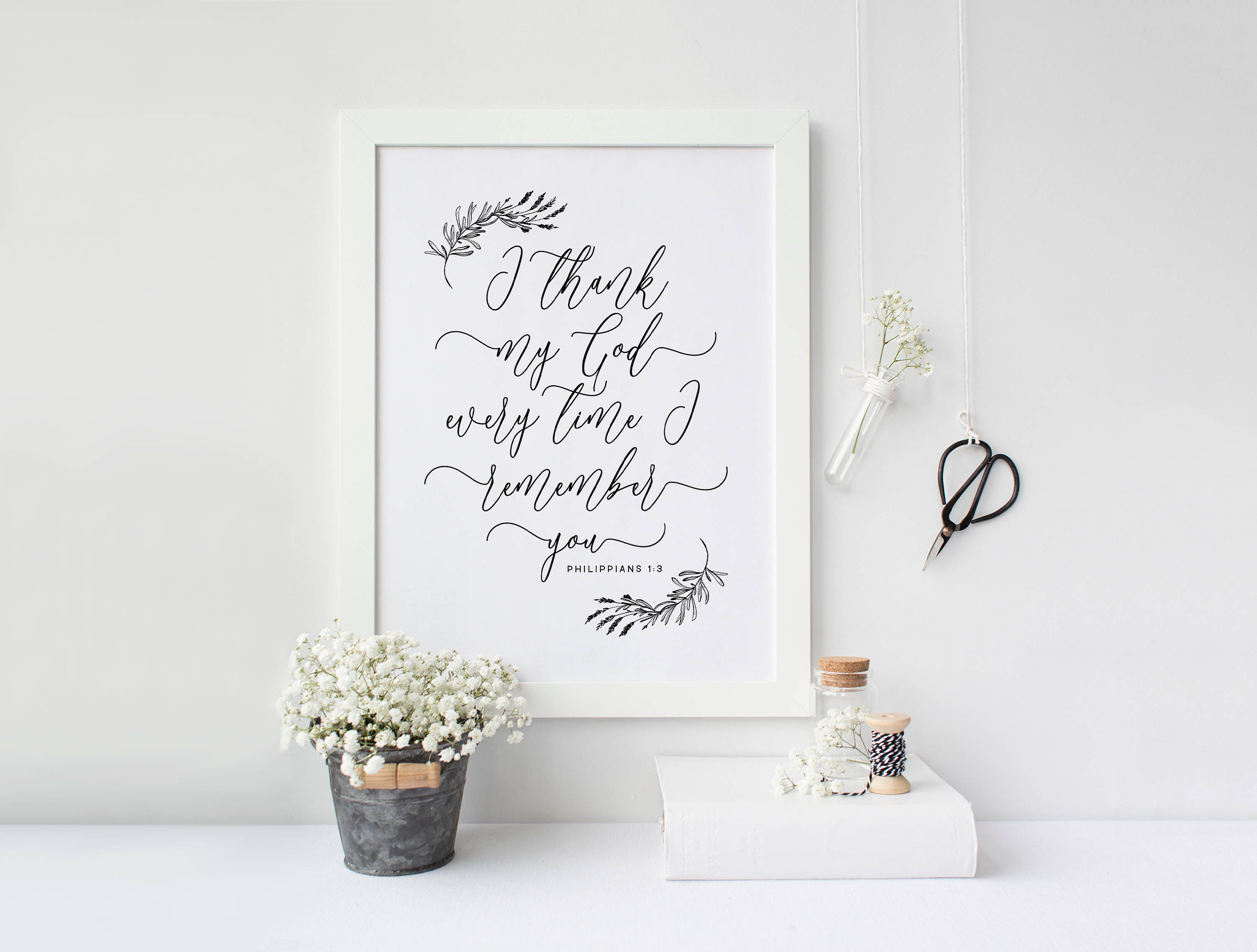 Philippians 13 Printable Marriage Bible Verse Love Quote
