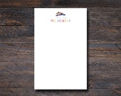 Personalized Notepads - Crayon Notepad - Teacher Gifts - Personalized Teacher Notepads  - Teacher Appreciation Gifts - Custom Notepads