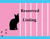 Reserved Listing for Mary Doll Wig Stands
