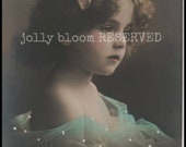 DO NOT Buy - RESERVED for Lisa |So lovely, cute girl photo, real photo card, Edwardian postcard, Edwardian girl, vintage photo (rppc/ch1338)