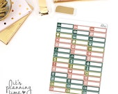 Thankful Assorted Label Planner Stickers
