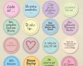 Hochzeits-Gästebuch-Sticker (160 Stück)