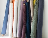 Soft linen fabric by yard, Natural linen fabrics by the yard, Pure linen fabric by meter, Linen fabric for clothing, bedding, curtains, diy