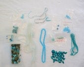 DESTASH Selling my AQUA Beads for Crafts Beading
