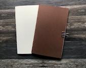B6 Copic paper travelers notebook
