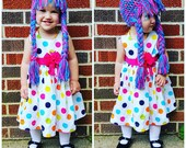 Crochet PATTERN Braided Crochet Wig Digital Download Newborn, 0-3 months, 6-9 months, 12 months, 12-18 months, toddler, youth/adult sizes.