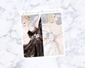 PRE-SALE! Swan Lake Fashion Girls Vs. 1 (Glam Planner Stickers for Erin Condren Life Planner)