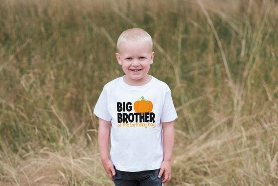 Big Brother Of The Birthday Boy Shirt