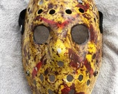 Blood Splattered Jason Voorhees Hockey Mask