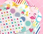 Mystery Pack of 10 count hearts, VARIETY Pack, Bright Summer Prints