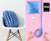 DIY Kit – Ohhio Braid Square Cushion. 20x20 inches. 4 colors available.