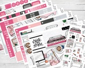 """8 PAGE FULL KIT   """"At The Office"""" Exclusive Glossy Kit   8 Pages, 225+ Stickers"""