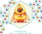 The Beehive - Collection of Fuzzbutts- Vol1 Book by Camilla d'Errico