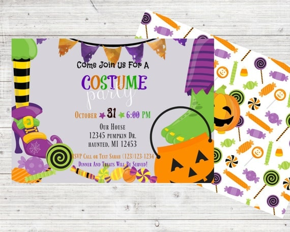 Costume party invitation kids halloween invitations costume il570xn filmwisefo