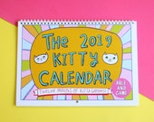 2019 Kitty Calendar - A year of kitty goodness - Made by cat lovers for cat lovers