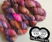 PREORDER - 'If I Want Exposure, I'll Get My Tits Out (Heavy Tits)' Charity Hand Dyed Yarn
