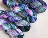 Sheepy Sock 'Duxfield Blue' Hand Dyed Yarn