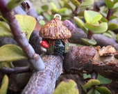 From the Fairy Fort: Individual Fairy House Stitch Markers for Knitters and Crocheters