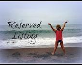 Reserved Listing For Nancy