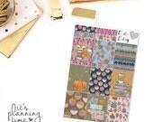 Fall Breeze Decorative Full Box Planner Stickers