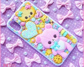 Kawaii sweet decoden iPhone X deco case -Favorite Sweets- by Dolly House