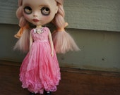 BLYTHE DRESS - Vintage Styled Shabby Elegance Tattered/Layered/Hand-Dyed Silk Dress  - #2