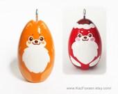 2 Custom Dog Ornaments