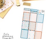 Just Smile Full Box Checklist Planner Stickers