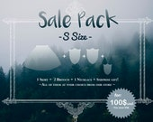 SALE PACK - S Size - CUSTOM Pack! - One of each items in list at your choice
