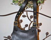 U R GREAT Coach Black Bag~Coach~Coach Bag~ Coach Saddle Bag~ Excellent Condition