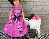 Ghost Town dress for Sindy and friends. (Adult collectors only.)