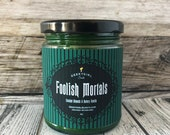 Foolish Mortals | Haunted Mansion Inspired Candle | Crushed Almonds & Buttery Vanilla