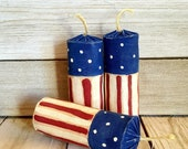 Primitive Firecrackers 4th of July Americana Patriotic Decor American Flag Bowl Filler Independence Day Table Decor Ready to Ship