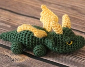 Green and Gold Dragon - Ready to Ship