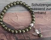 Perlenkette Schutzengel 70 cm