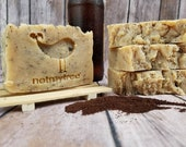 Coffee IPA Soap, Natural Soap, Handmade Soap, Palm Free Soap, Gift for Him, Beer Soap, Unscented Soap, Undyed Soap, Groomsman Soap Gift