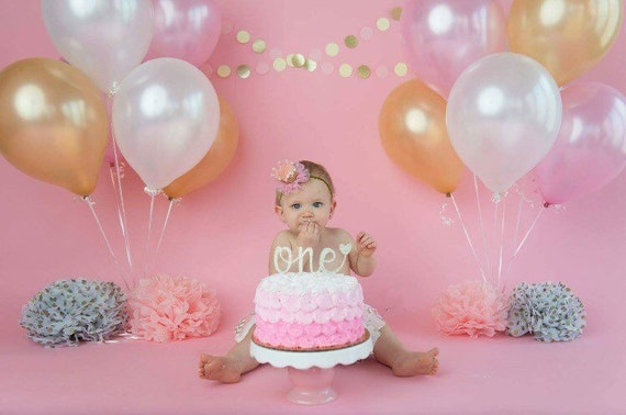 first birthday cake topper one cake topper first birthday girl