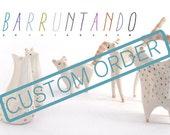 Custom order for Anaïs