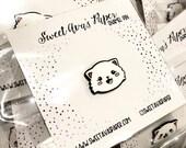 Cat Soft Enamel Pin - Cat Lapel Pin - Cat Collector's Pin - Soft Enamel Pin - Cat Emoji Pin - Cat Badge - Cat Brooch - Enamel Pin Collector