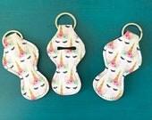 Unicorn Chapstick Holders, Chapstick Keychain, Chapstick Holder, Lip Balm Holder