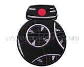 ON SALE Black Droid Applique Design