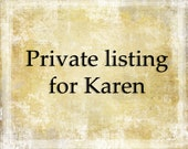 Private Listing for Karen Nightingale