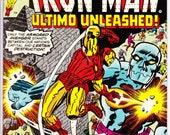 Iron Man #95 (1968 1st Series) February 1977  Marvel Comics  Grade VG