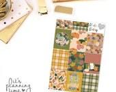 Thankful Decorative Full Box Planner Stickers
