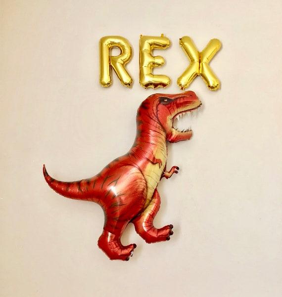 Three Rex BalloonT DinosaurThree Party DecorationsRex Dinosaur BalloonDinosaur PartyDinosaur BalloonBoy Birthday Party3