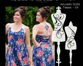 The Starc Top and Dress (Women's Sizes) PDF Sewing Pattern