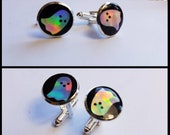 Holographic Ghosts Cufflinks