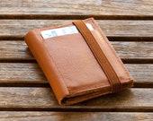 Caramel Leather Wallets - Men's Wallet - Mens Leather Wallet - Men's Gift - Wallet for Men